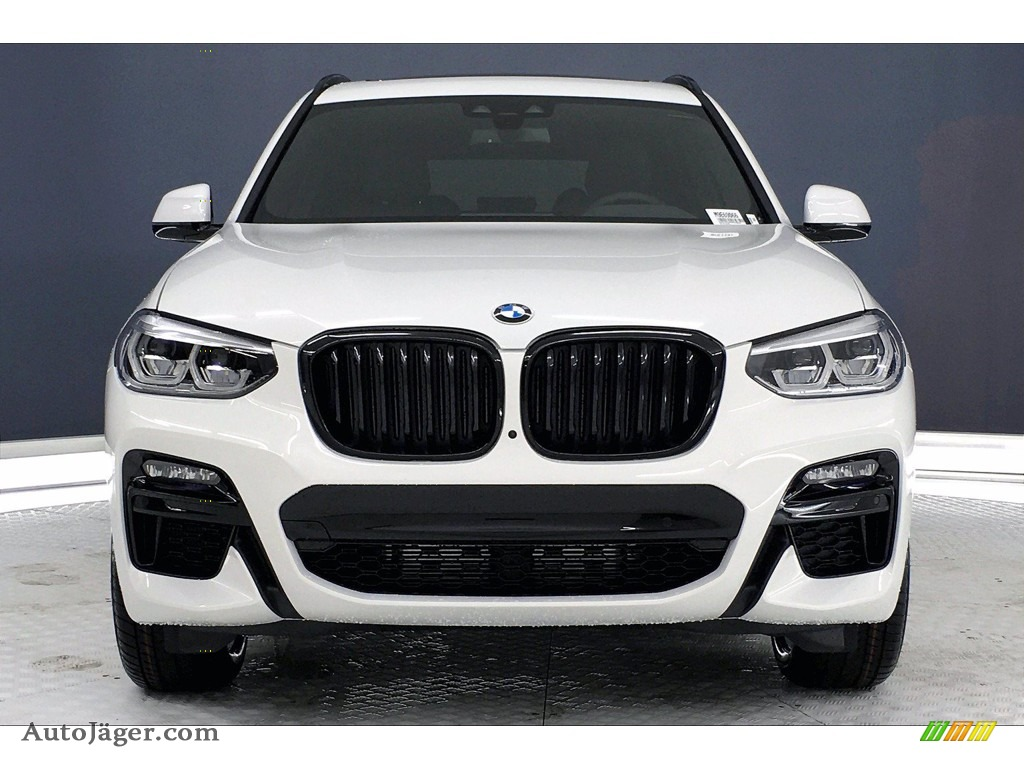 2021 X3 M40i - Alpine White / Black photo #2