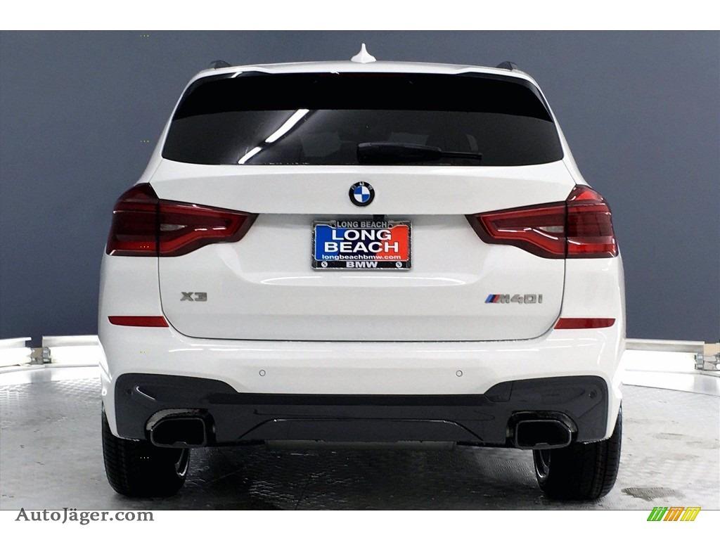 2021 X3 M40i - Alpine White / Black photo #4