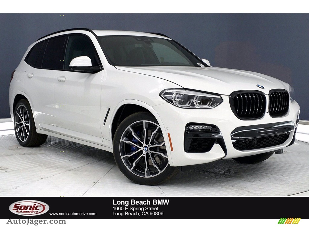 Alpine White / Black BMW X3 M40i