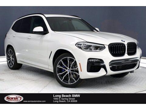 Alpine White 2021 BMW X3 M40i