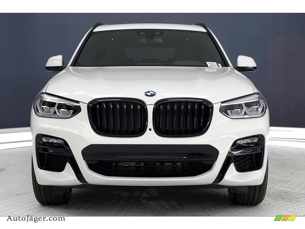 2021 X3 M40i - Alpine White / Black photo #2