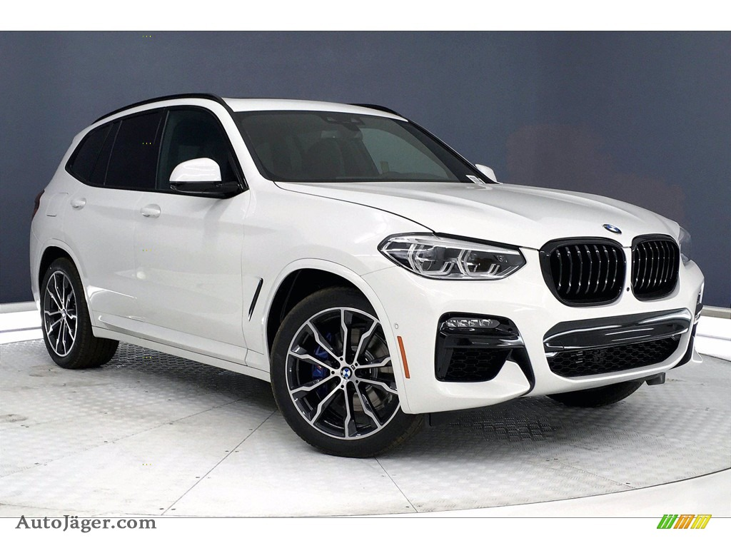 2021 X3 M40i - Alpine White / Black photo #19