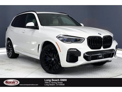 Alpine White 2021 BMW X5 M50i