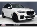 BMW X5 M50i Alpine White photo #1