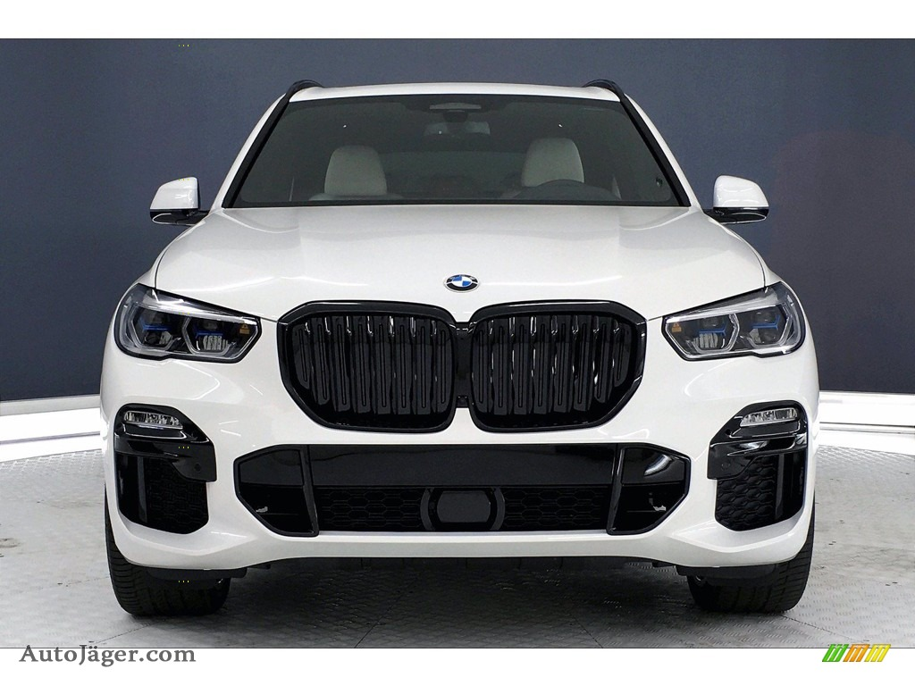 2021 X5 M50i - Alpine White / Ivory White photo #2