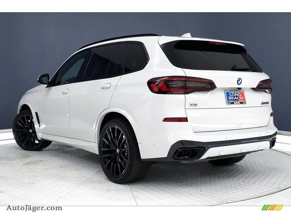 2021 X5 M50i - Alpine White / Ivory White photo #3