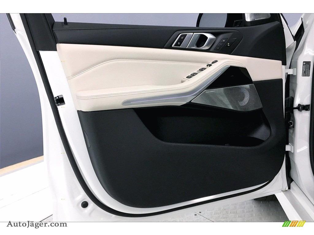 2021 X5 M50i - Alpine White / Ivory White photo #13