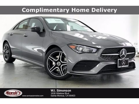 Mountain Gray Metallic 2021 Mercedes-Benz CLA 250 Coupe