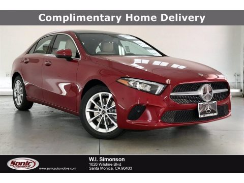 Patagonia Red Metallic 2021 Mercedes-Benz A 220 Sedan