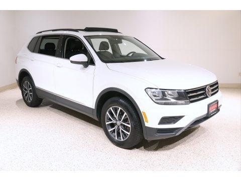 Pure White 2020 Volkswagen Tiguan SE 4MOTION