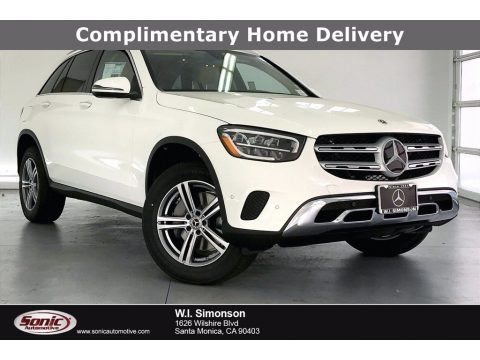 Polar White 2021 Mercedes-Benz GLC 300