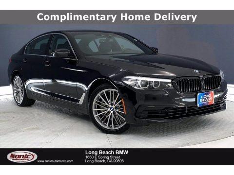 Black Sapphire Metallic 2020 BMW 5 Series 530i Sedan
