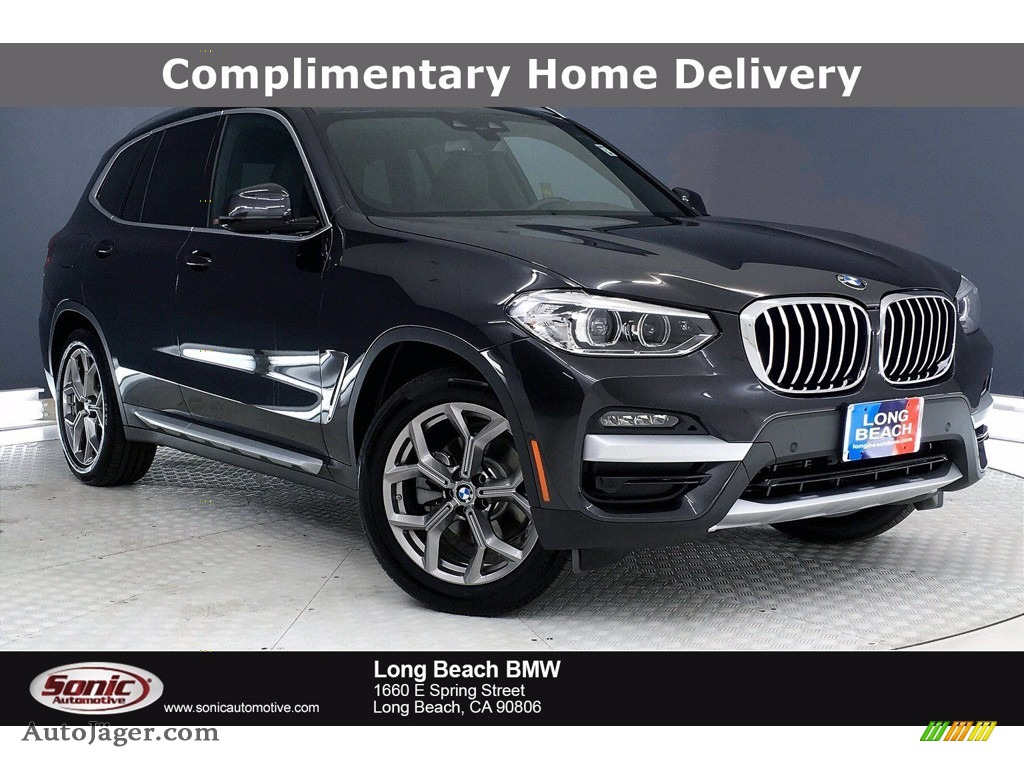 2020 X3 xDrive30i - Dark Graphite Metallic / Black photo #1