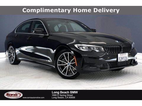 Jet Black 2020 BMW 3 Series 330i Sedan