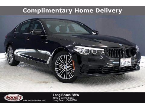 Jet Black 2020 BMW 5 Series 530i Sedan