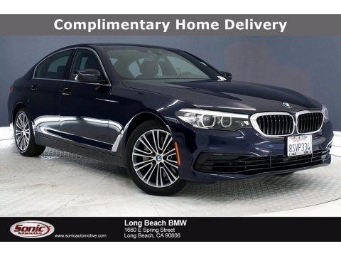 Bluestone Metallic 2020 BMW 5 Series 530i Sedan