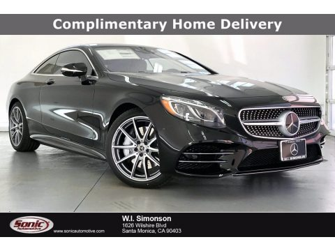 Black 2021 Mercedes-Benz S 560 4Matic Coupe