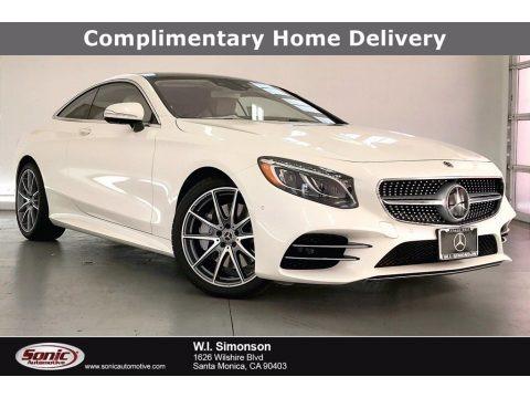 designo Diamond White Metallic 2021 Mercedes-Benz S 560 4Matic Coupe