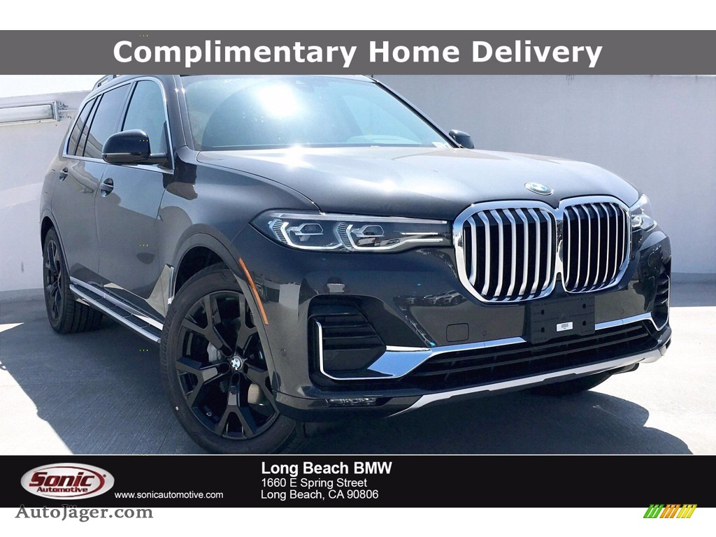 Dark Graphite Metallic / Black BMW X7 xDrive40i