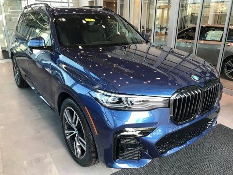 Phytonic Blue Metallic 2021 BMW X7 xDrive40i