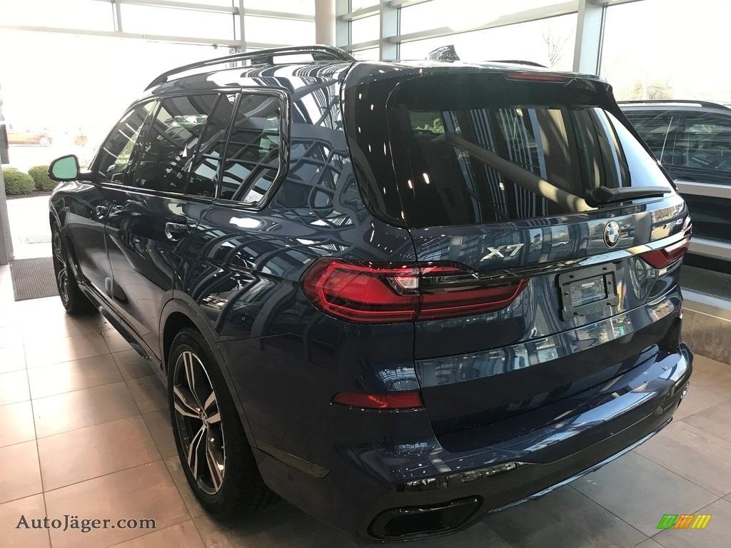 2021 X7 xDrive40i - Phytonic Blue Metallic / Black photo #2