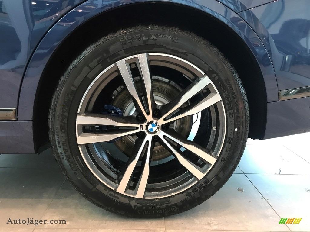 2021 X7 xDrive40i - Phytonic Blue Metallic / Black photo #6