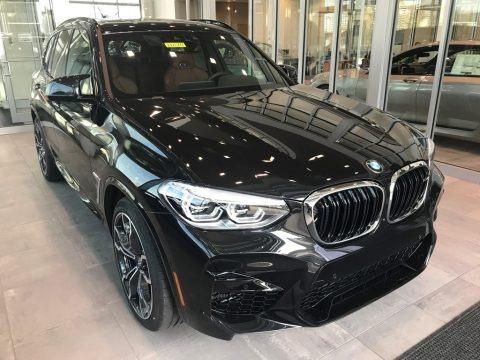 Black Sapphire Metallic 2021 BMW X3 M