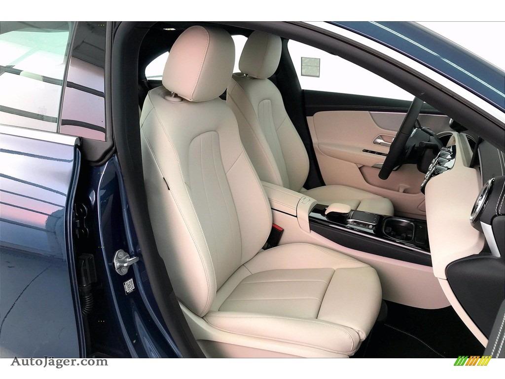 2021 CLA 250 Coupe - Denim Blue Metallic / Macchiato Beige photo #5
