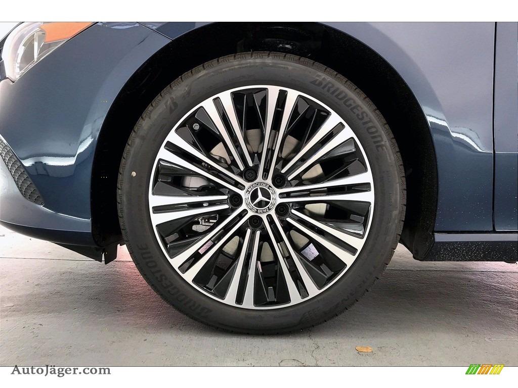 2021 CLA 250 Coupe - Denim Blue Metallic / Macchiato Beige photo #9