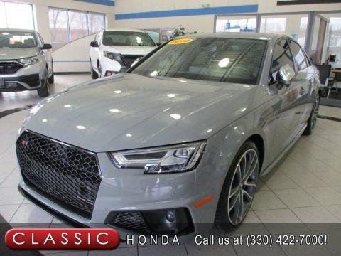 Quantum Gray 2019 Audi S4 Premium Plus quattro