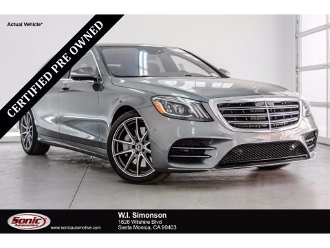 Selenite Grey Metallic 2018 Mercedes-Benz S 450 4Matic Sedan