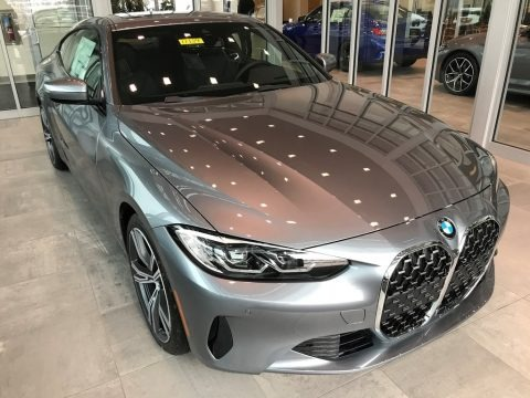 Bluestone Metallic 2021 BMW 4 Series 430i xDrive Coupe