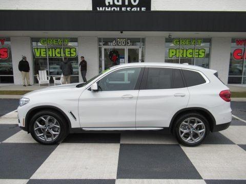 Alpine White 2020 BMW X3 sDrive30i