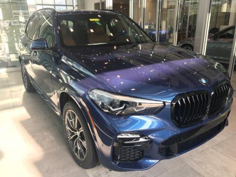 Phytonic Blue Metallic 2021 BMW X5 xDrive40i