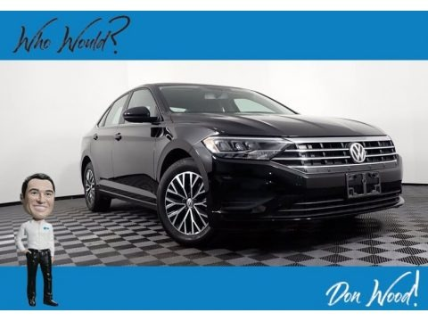 Black 2019 Volkswagen Jetta SE