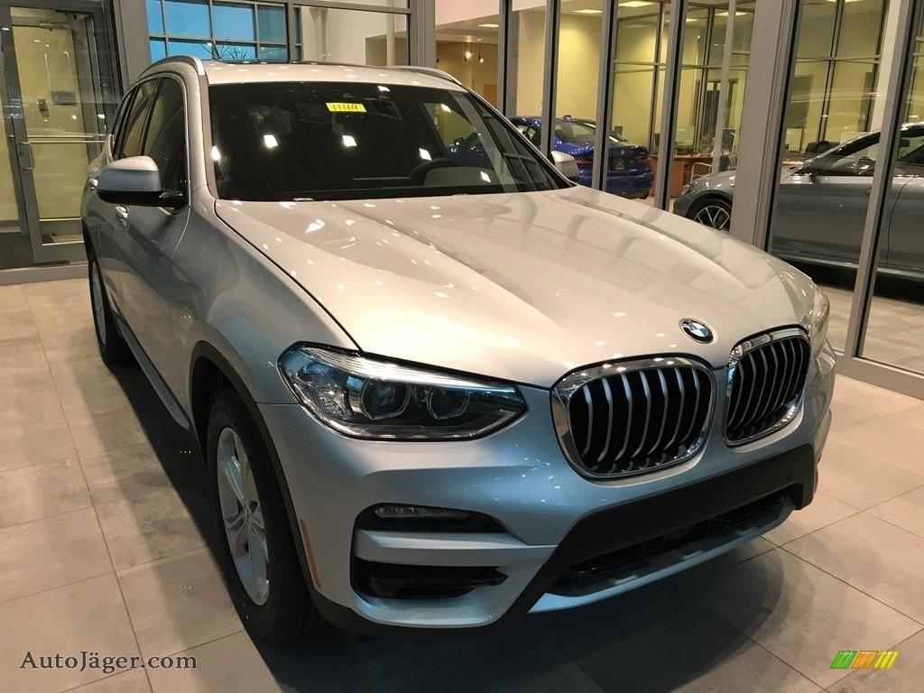 Glacier Silver Metallic / Black BMW X3 xDrive30i