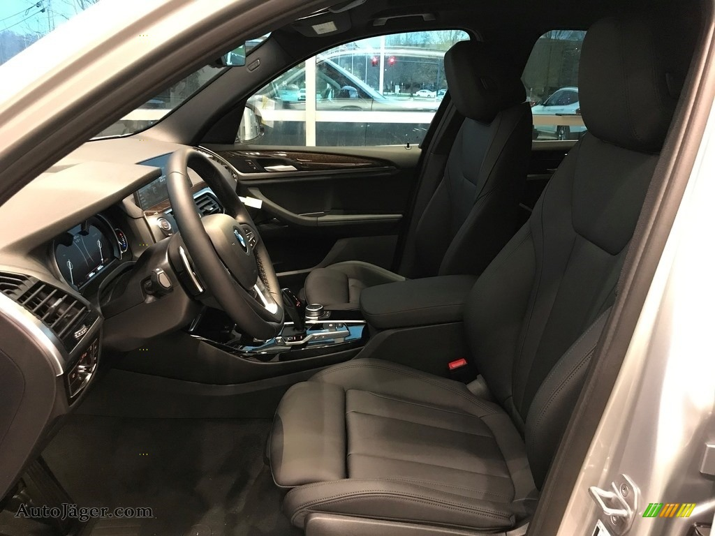 2021 X3 xDrive30i - Glacier Silver Metallic / Black photo #3