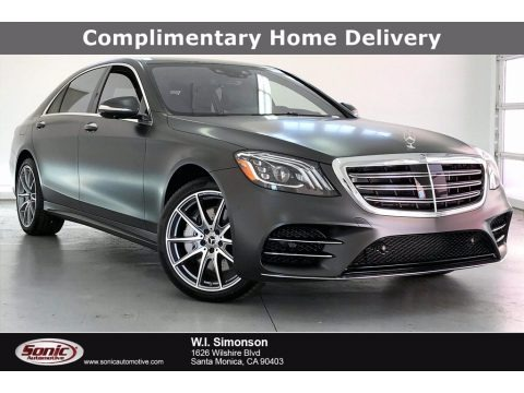 designo Graphite Grey Magno (Matte) 2020 Mercedes-Benz S 560 Sedan