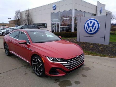 Kings Red Metallic 2021 Volkswagen Arteon SEL Premium R-Line 4Motion