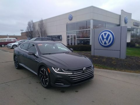Urano Gray 2021 Volkswagen Arteon SEL Premium R-Line 4Motion