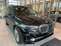 BMW X7 xDrive40i Black Sapphire Metallic photo #1