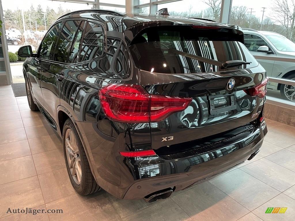2021 X7 xDrive40i - Black Sapphire Metallic / Cognac photo #2