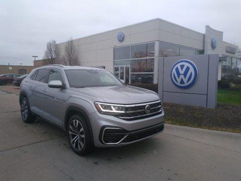 Pyrite Silver Metallic 2021 Volkswagen Atlas Cross Sport SEL R-Line 4Motion