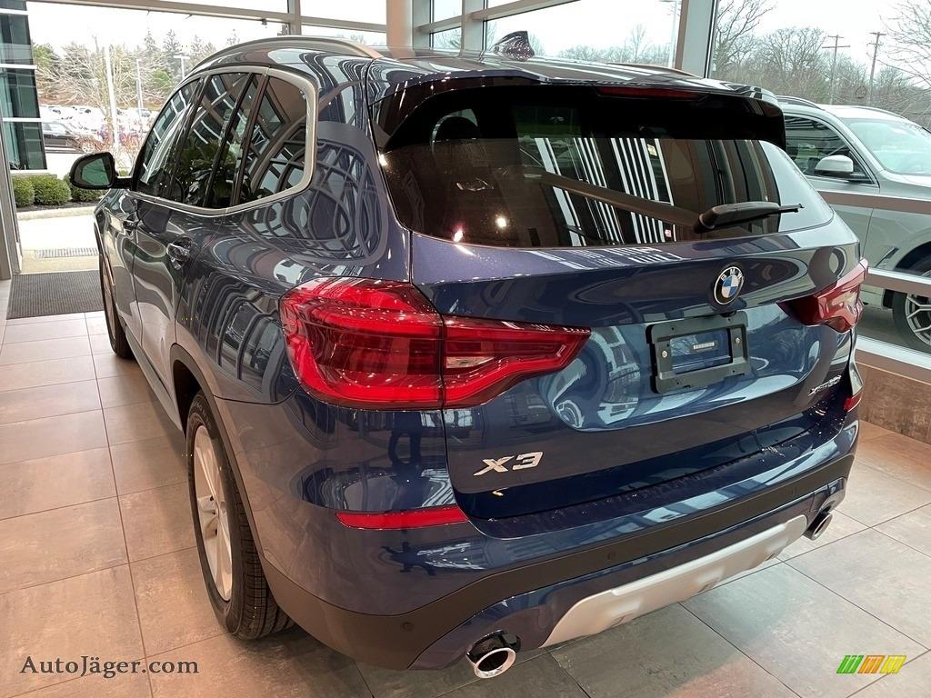 2021 X3 xDrive30i - Phytonic Blue Metallic / Canberra Beige/Black photo #2
