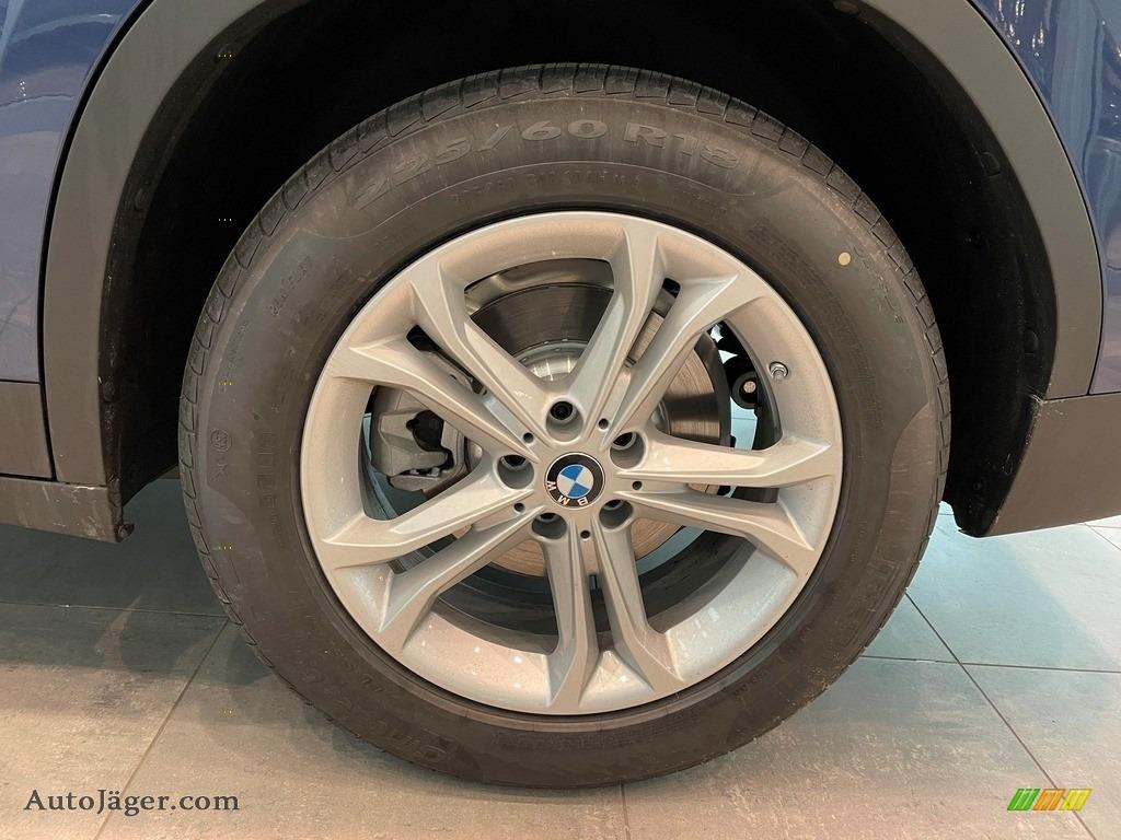 2021 X3 xDrive30i - Phytonic Blue Metallic / Canberra Beige/Black photo #5