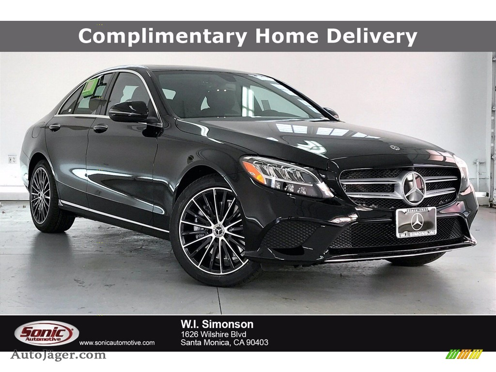 Black / Black Mercedes-Benz C 300 Sedan