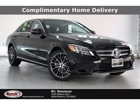 Black 2021 Mercedes-Benz C 300 Sedan