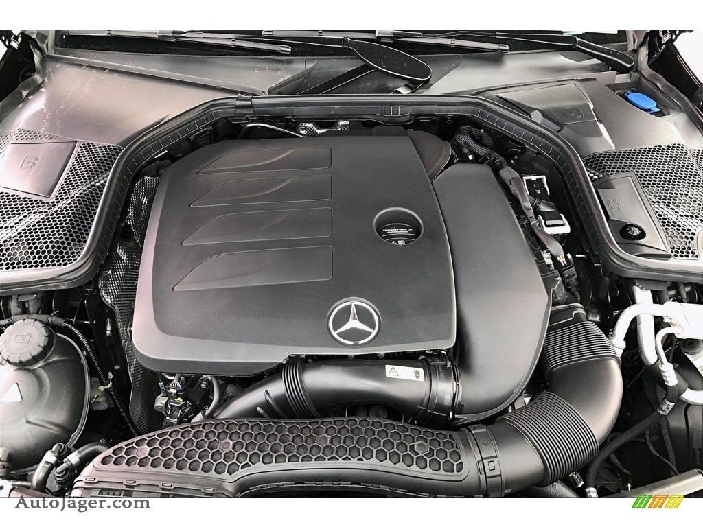 2021 C 300 Sedan - Black / Black photo #8