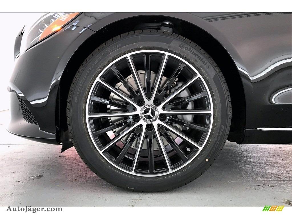 2021 C 300 Sedan - Black / Black photo #9