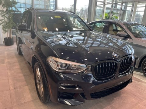 Carbon Black Metallic 2021 BMW X3 xDrive30i